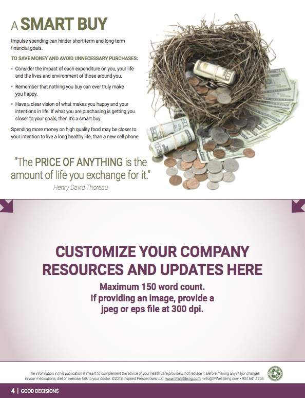 Newsletter Personalization Page 4