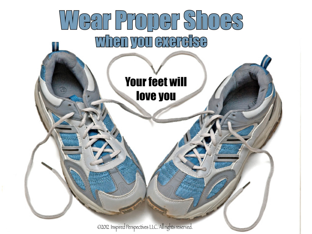 May Shoes Health Tip