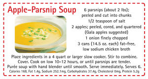 2017 Jan Appl Parsnip Soup