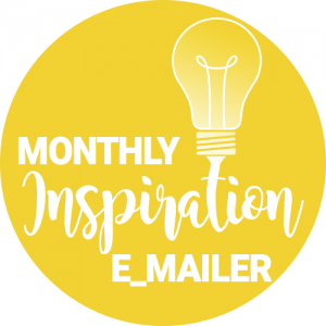 monthly inspirational email logo